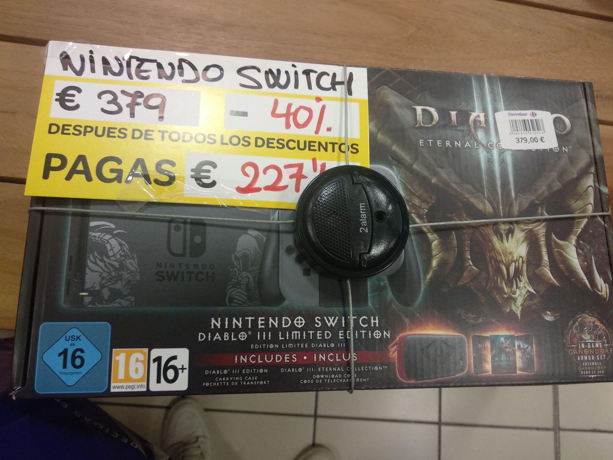 Nintendo Switch Diablo III Limited Edition (Carrefour del CC Puerta de Alicante)