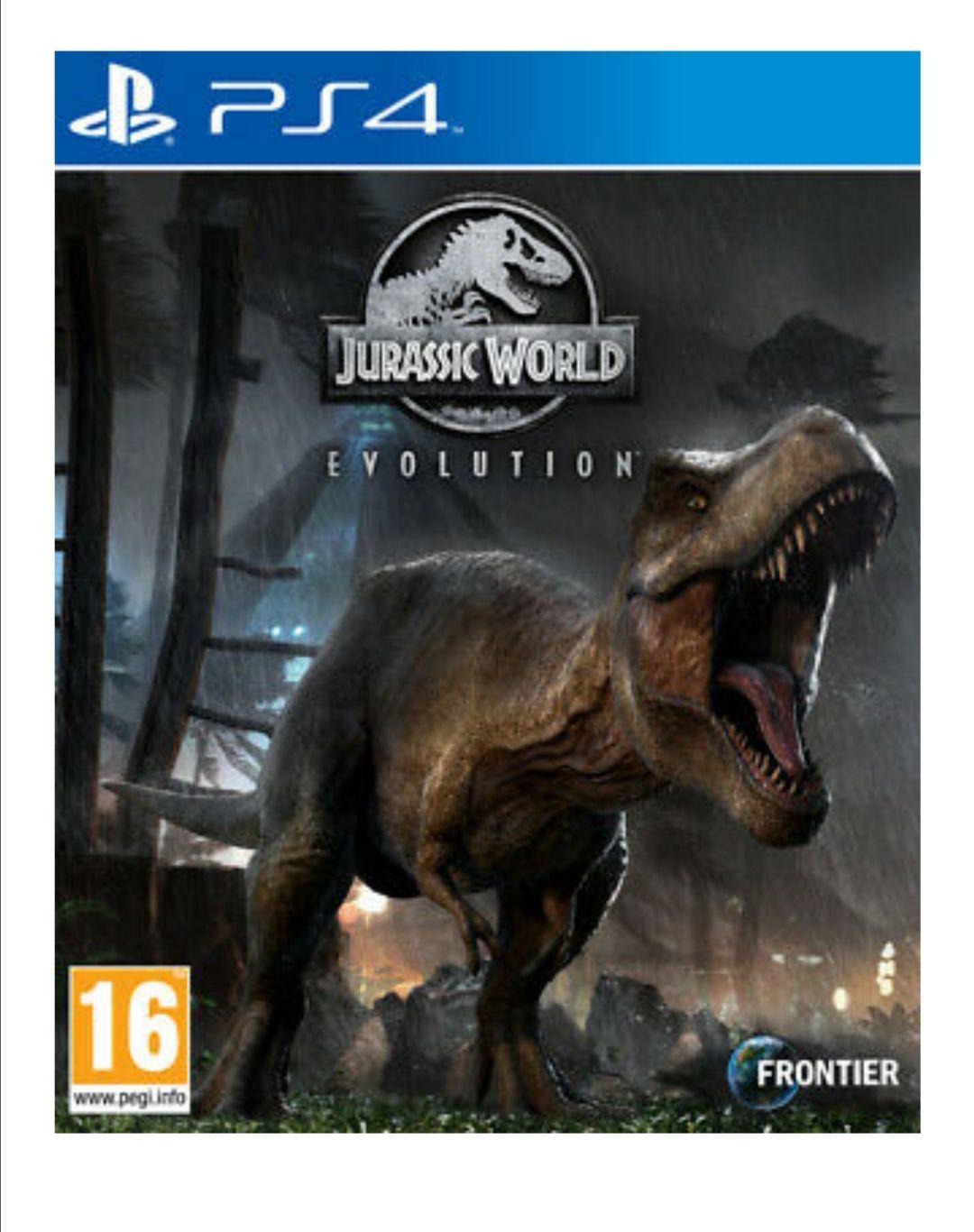 Jurassic world evolution para Ps4