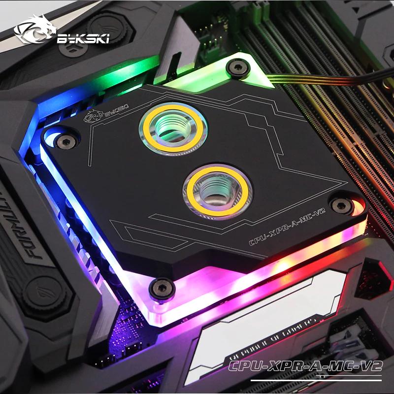 Bloque de agua para CPU con RGB