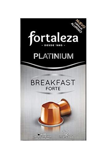 50 capsulas de cafe fortaleza de Aluminio Café Breakfast Forte Compatibles Con Nespresso