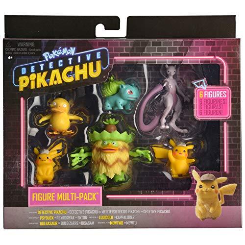 Bizak- Detective Pikachu Multi 6 Figuras Mini precio