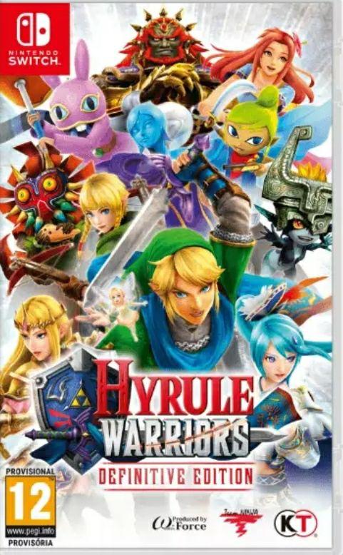 Nintendo Switch Hyrule Warriors Definitive Edition