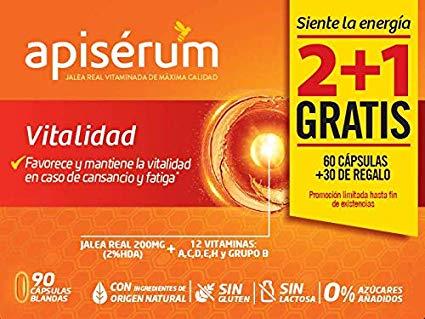 Apisérum Pack Vitalidad Cápsulas