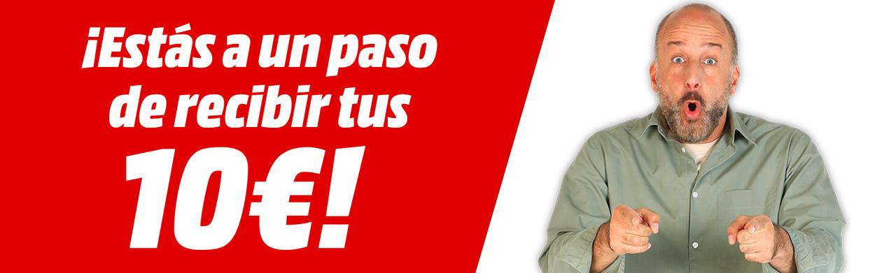 (Vuelve a funcionar) 10€ de descuento por 100 de compra en MediaMarkt