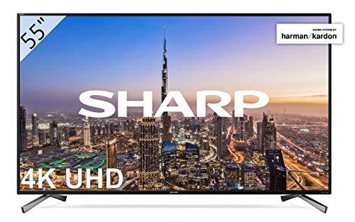 "Sharp 55"" 4k sonido Harman Kardon 459€"