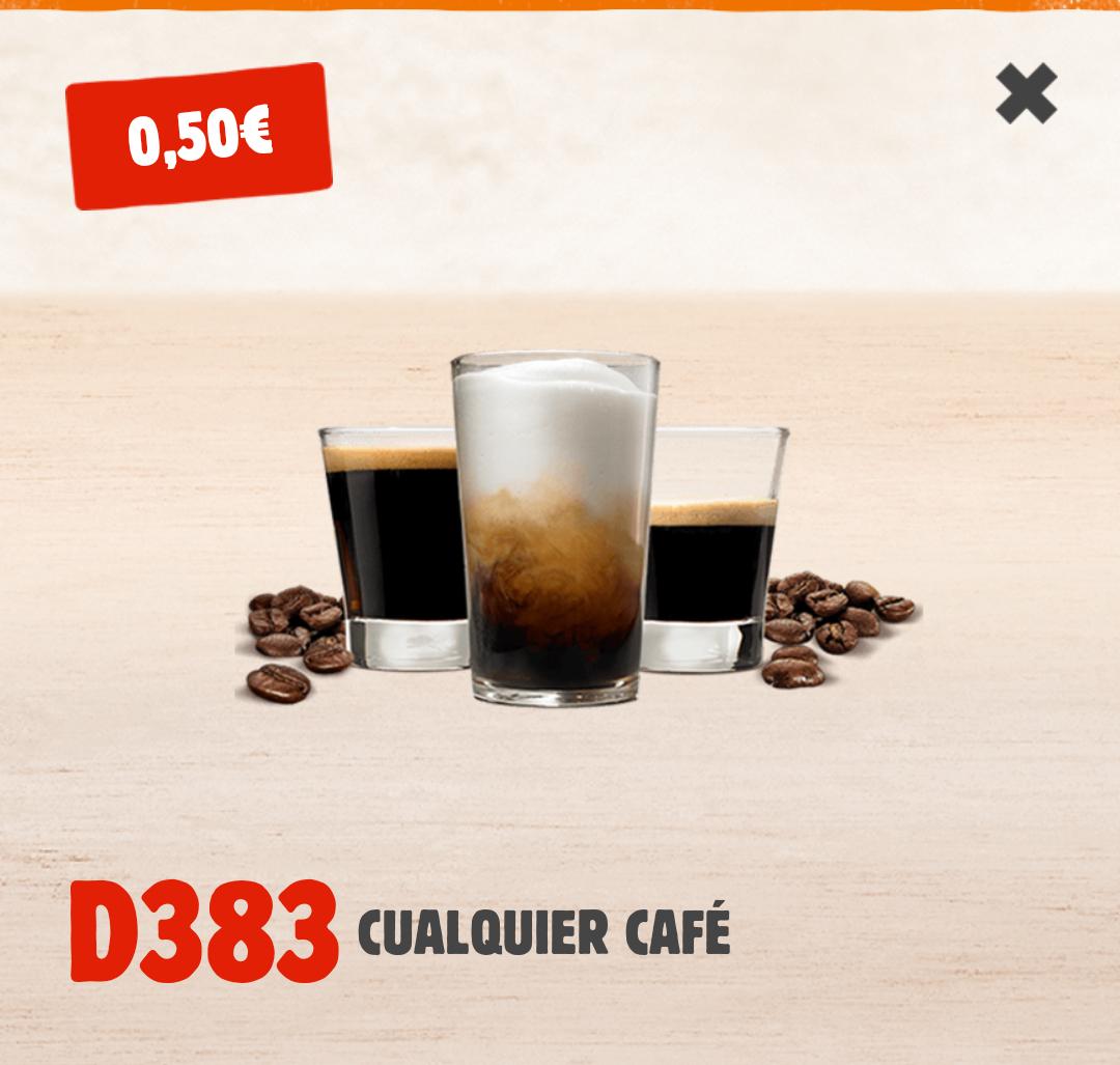 Cafés Burguer King (D383)