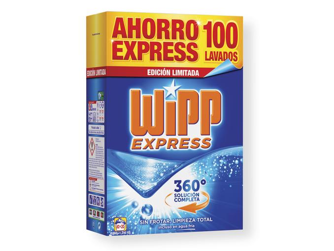 Detergente Wipp Express 100 lavados