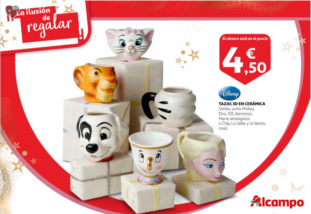 Tazas Disney 3D en Cerámica (6 Modelos Diferentes) (4.50€/Unidad)