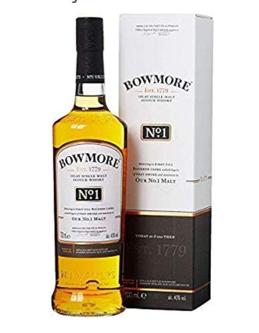 Bowmore No.1 Whisky Escocés Por 21€,mas el de 12años por 25€