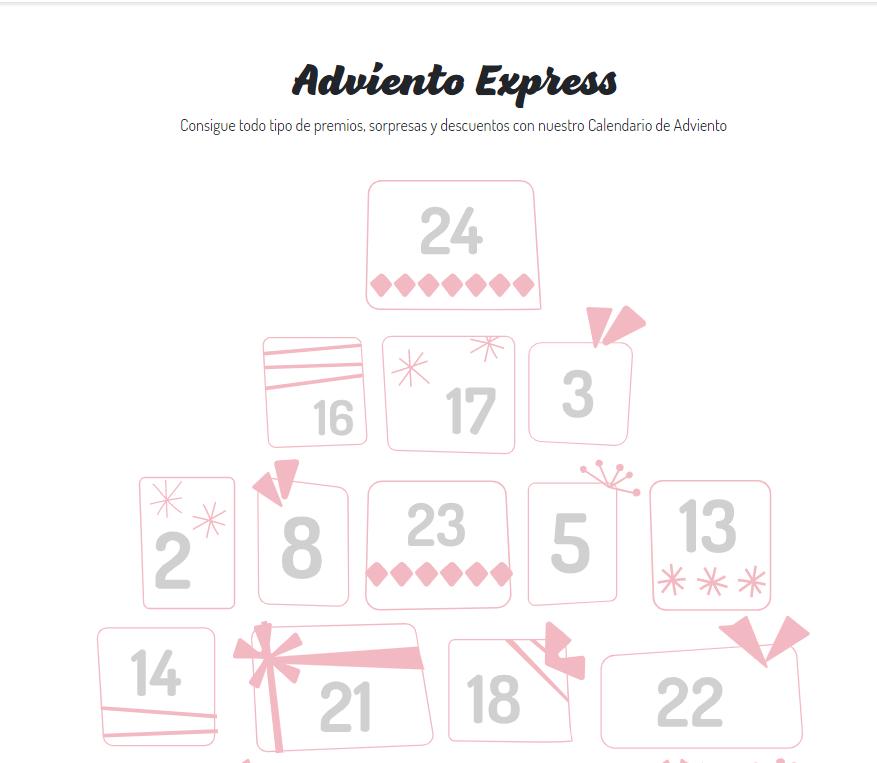 Calendario de Adviento de Iberia Express