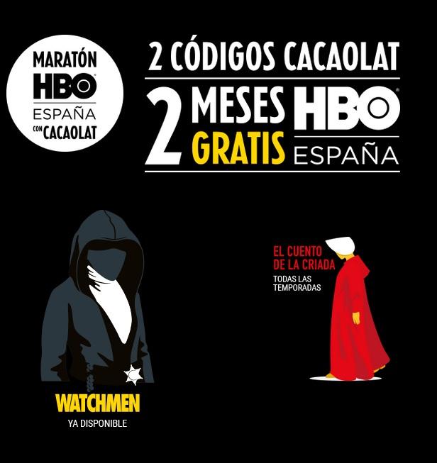 2 meses HBO GRATIS comprando Cacaolat