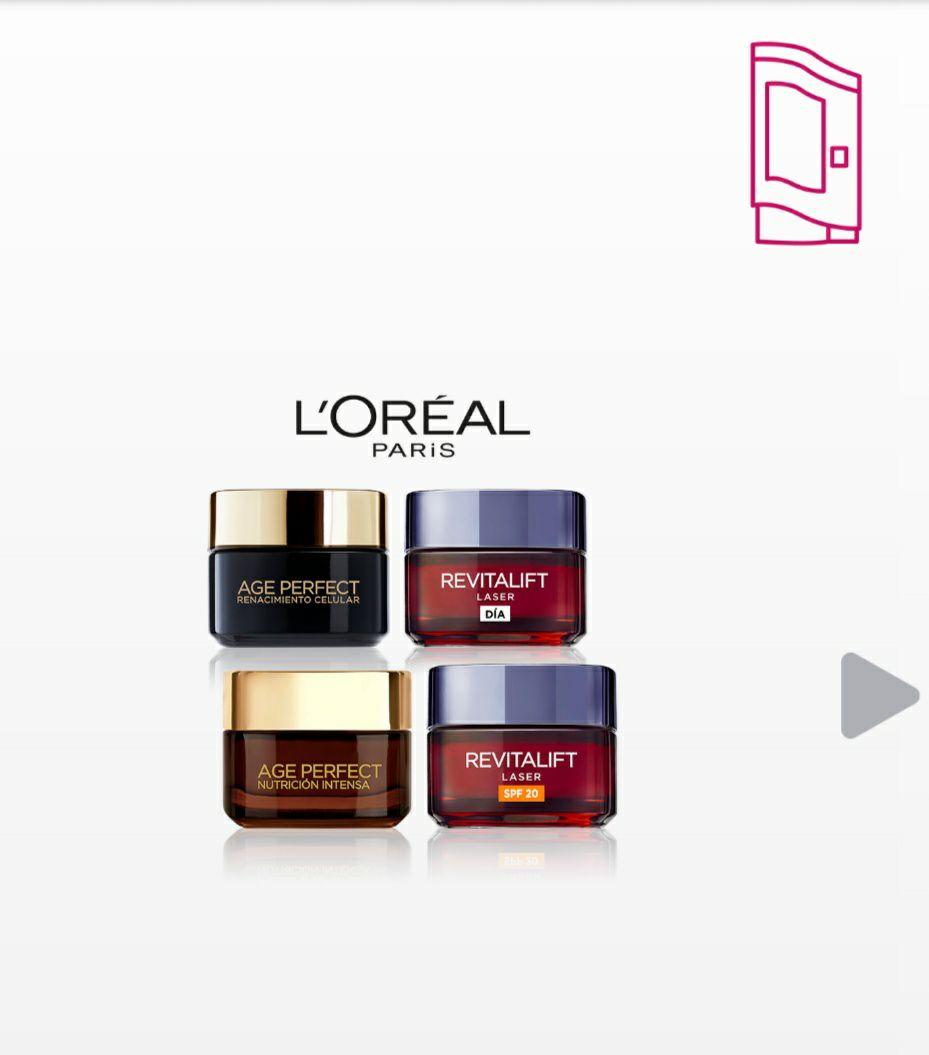 Campaña L'Oréal de samplia muestra gratis