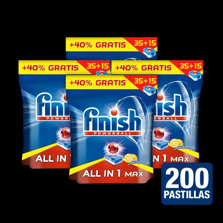 200 pastillas de Finish por 20,5€