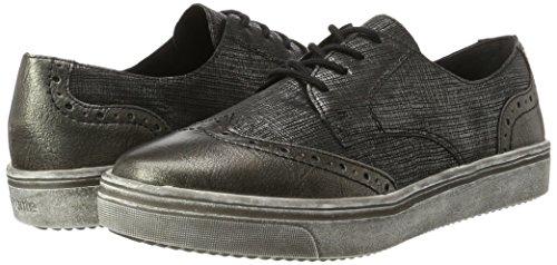 TALLA 39 - Remonte R7806, Zapatos de Cordones Derby para Mujer