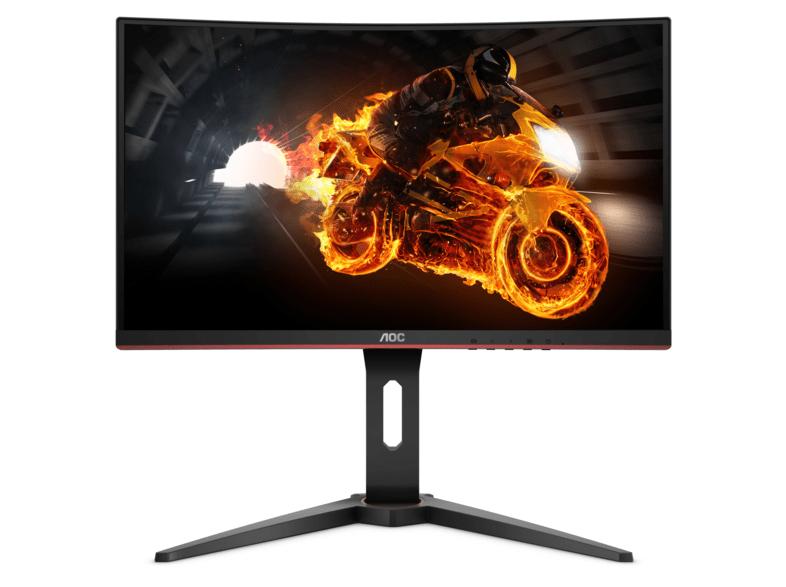Monitor Gaming - AOC C27G1, Curvo, Full HD, VA, Negro