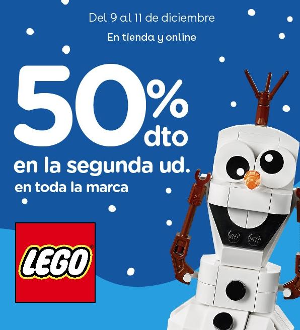 LEGO Descuento 50% en la 2ª ud. ToysRus