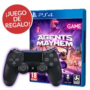 Pack Dualshock V2+juego de regalo (Agents of Mayhem)