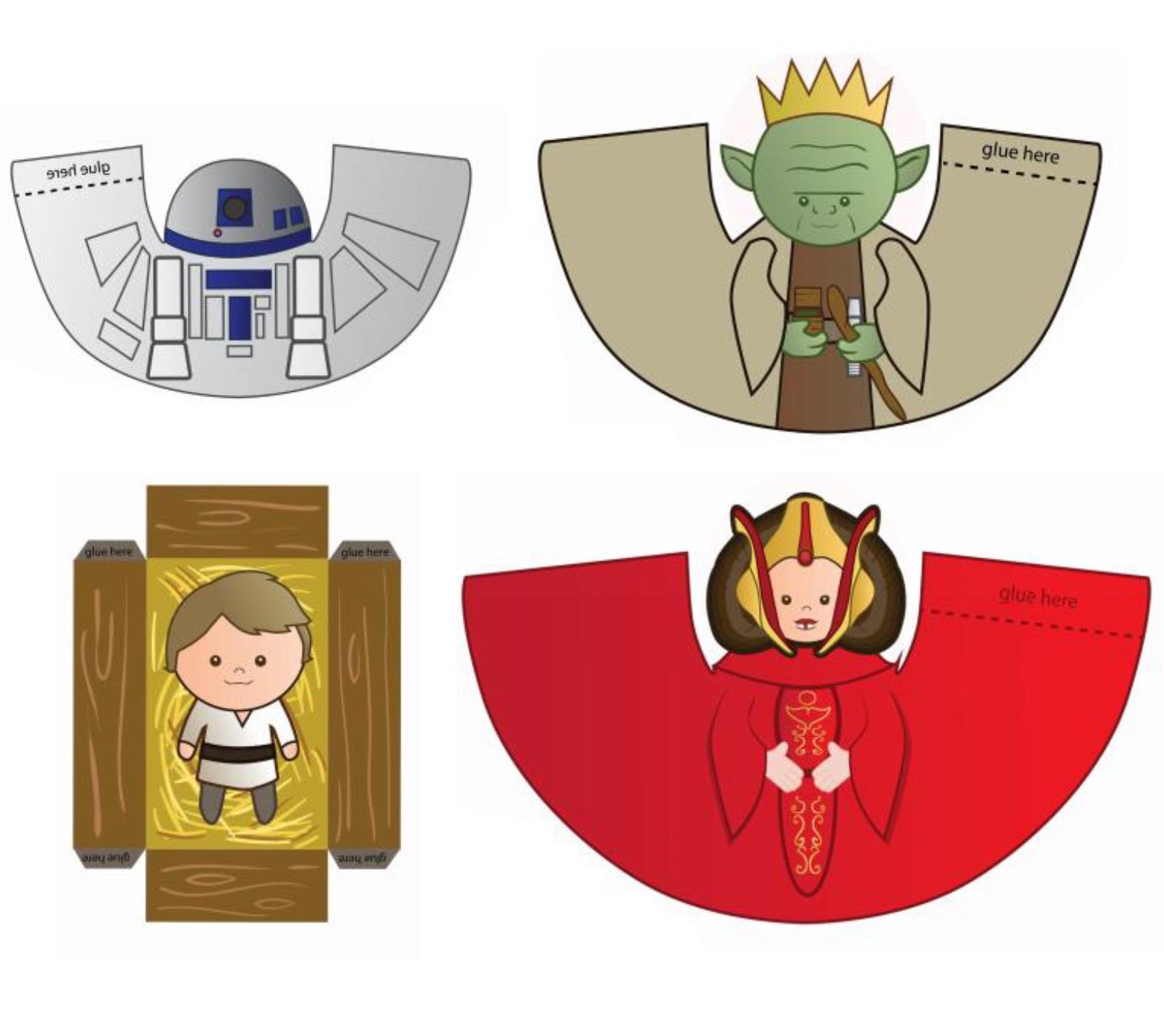 Belen de Navidad de Star Wars GRATIS