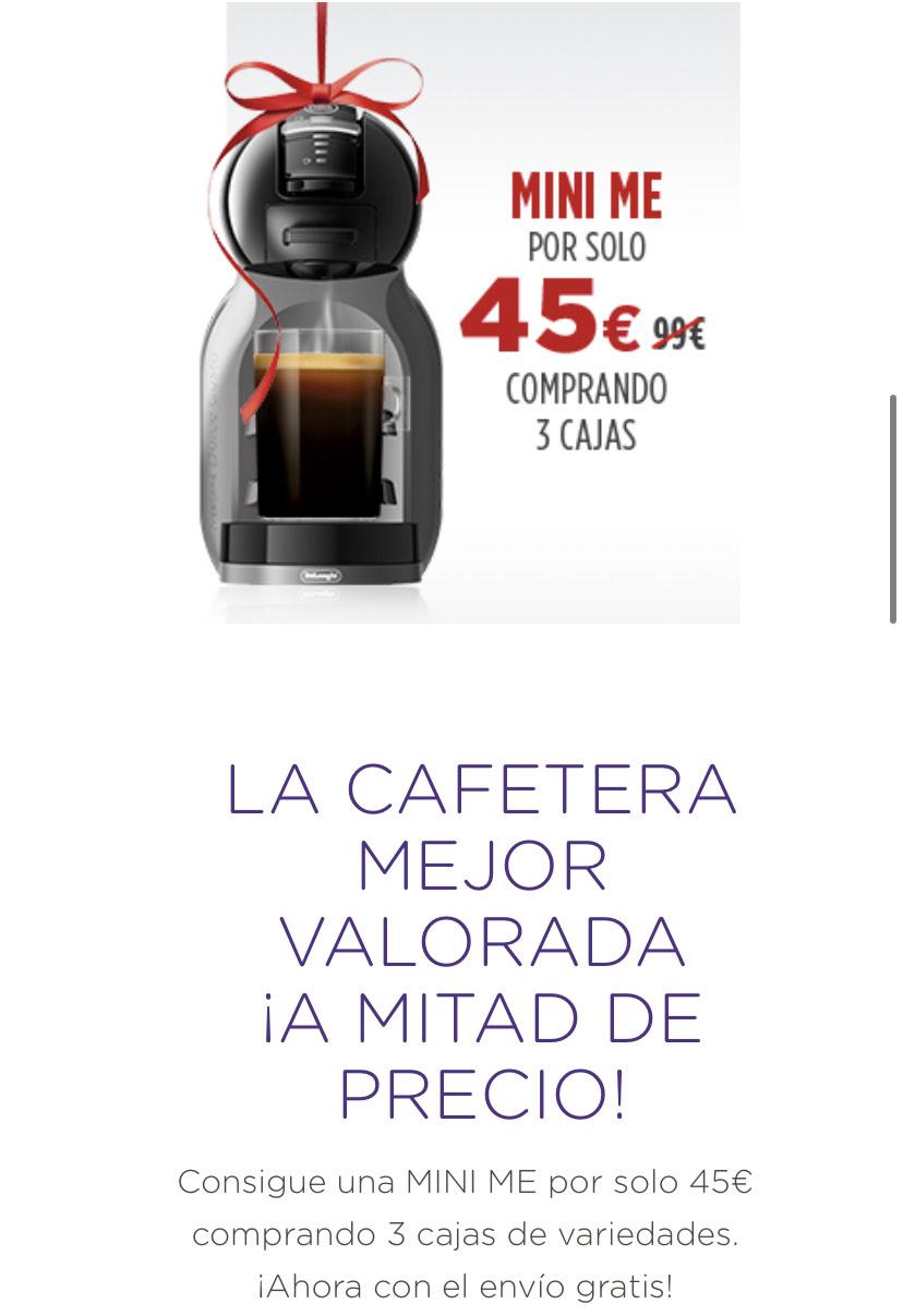 PROMOCIÓN EN CAFETERAS AUTOMÁTICAS DOLCE GUSTO
