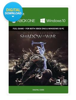 La tierra media - Sombras de guerra para  Xbox One/PC