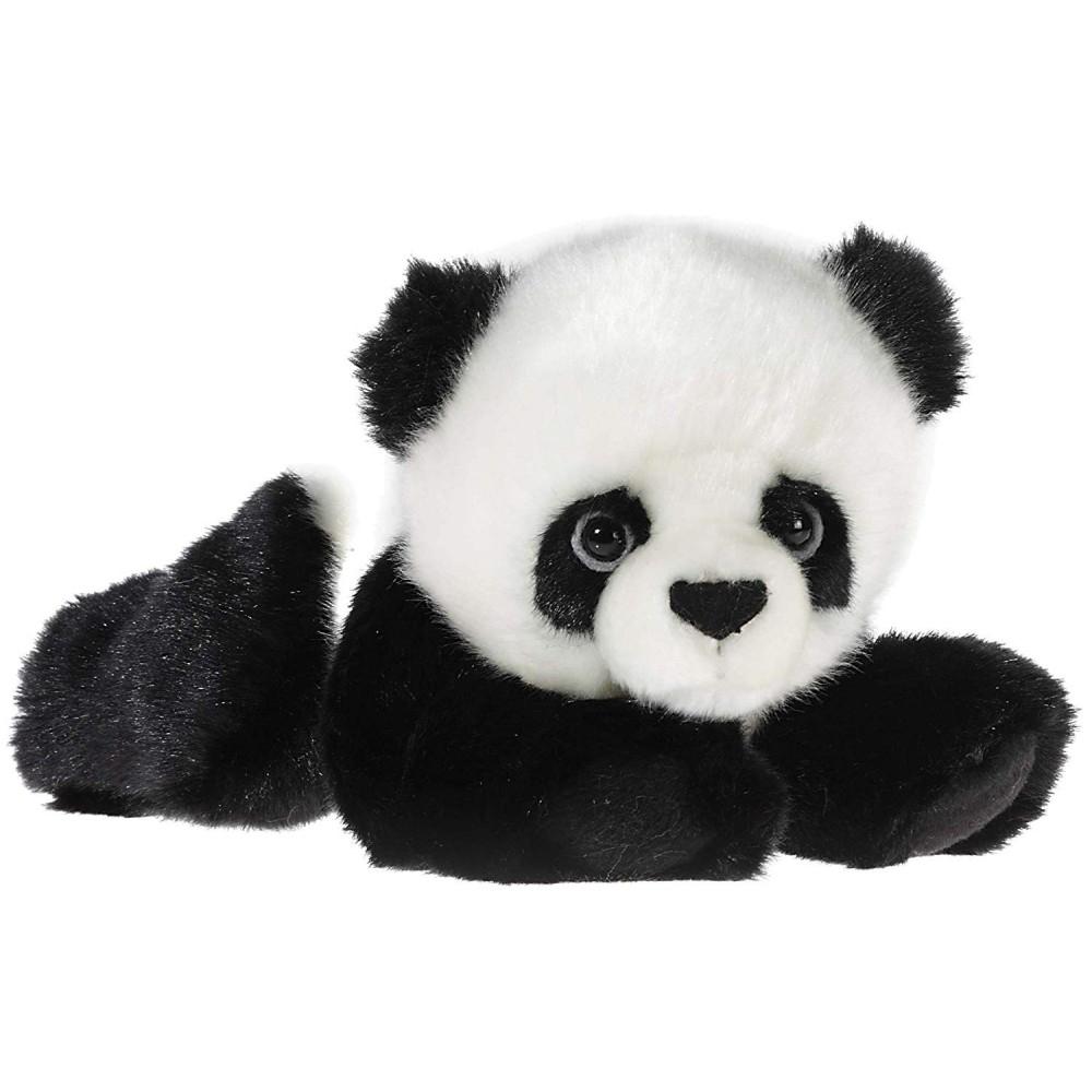 Peluchin de calidad y marca Heunec 241572 Peluche De Panda Acostado 23 Cm