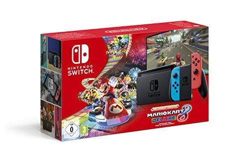 Consola Nintendo Switch Mario Kart 8 Deluxe [Version 2019 V2]