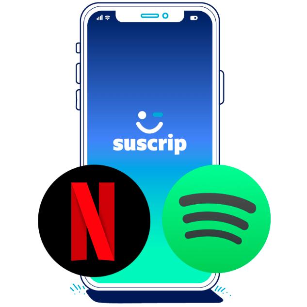 Comparte Netflix o Spotify en grupo y llévate 1 MES GRATIS