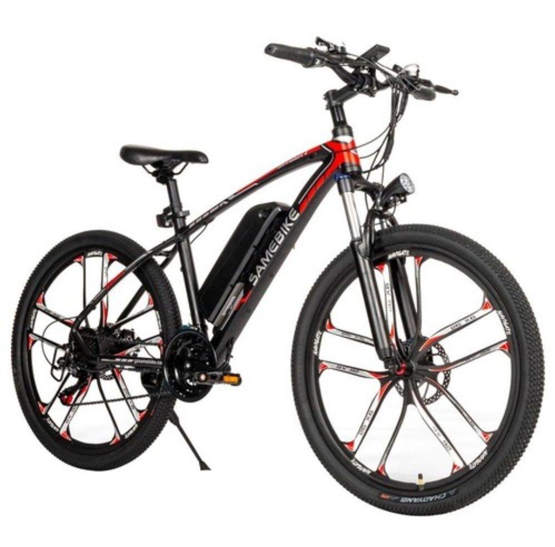 Bicicleta de montaña eléctrica!!!