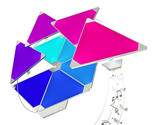 Nanoleaf Rhythm Larger Kit 15 piezas + módulo musica