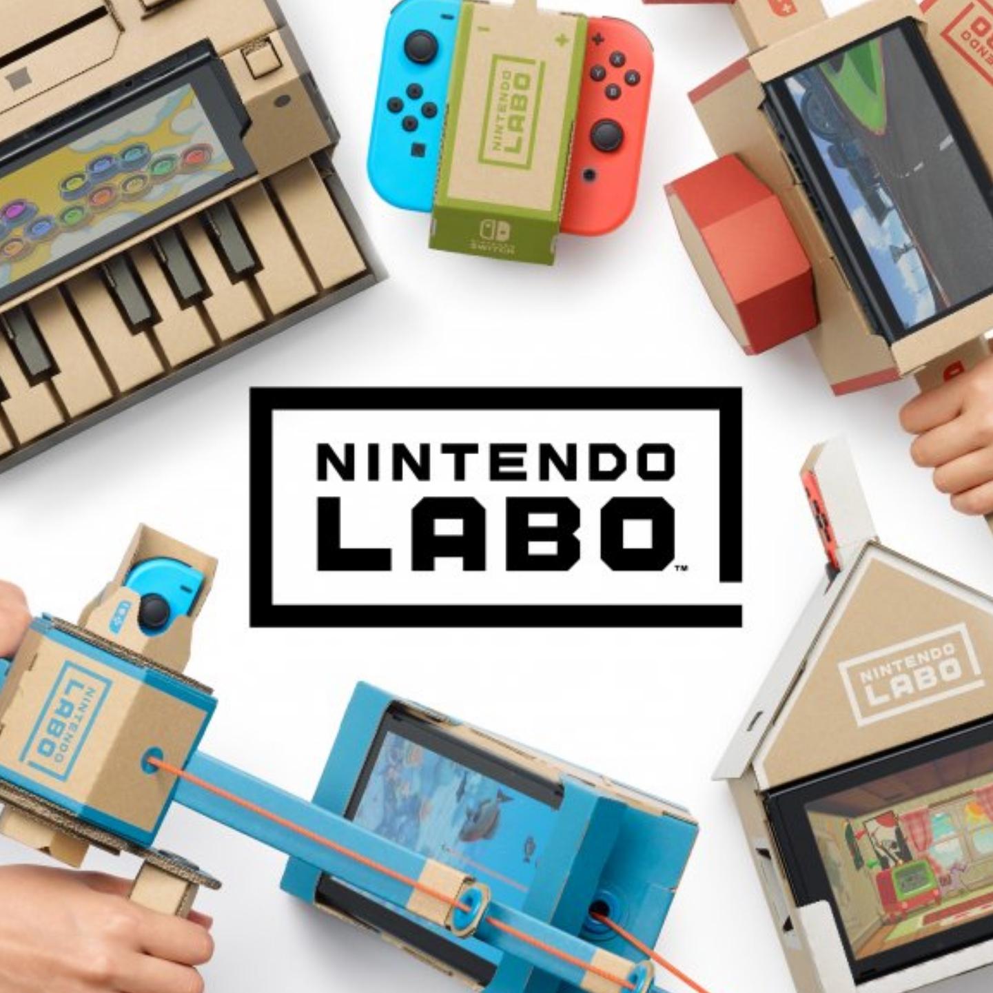 Nintendo Labo plantillas cartón GRATIS