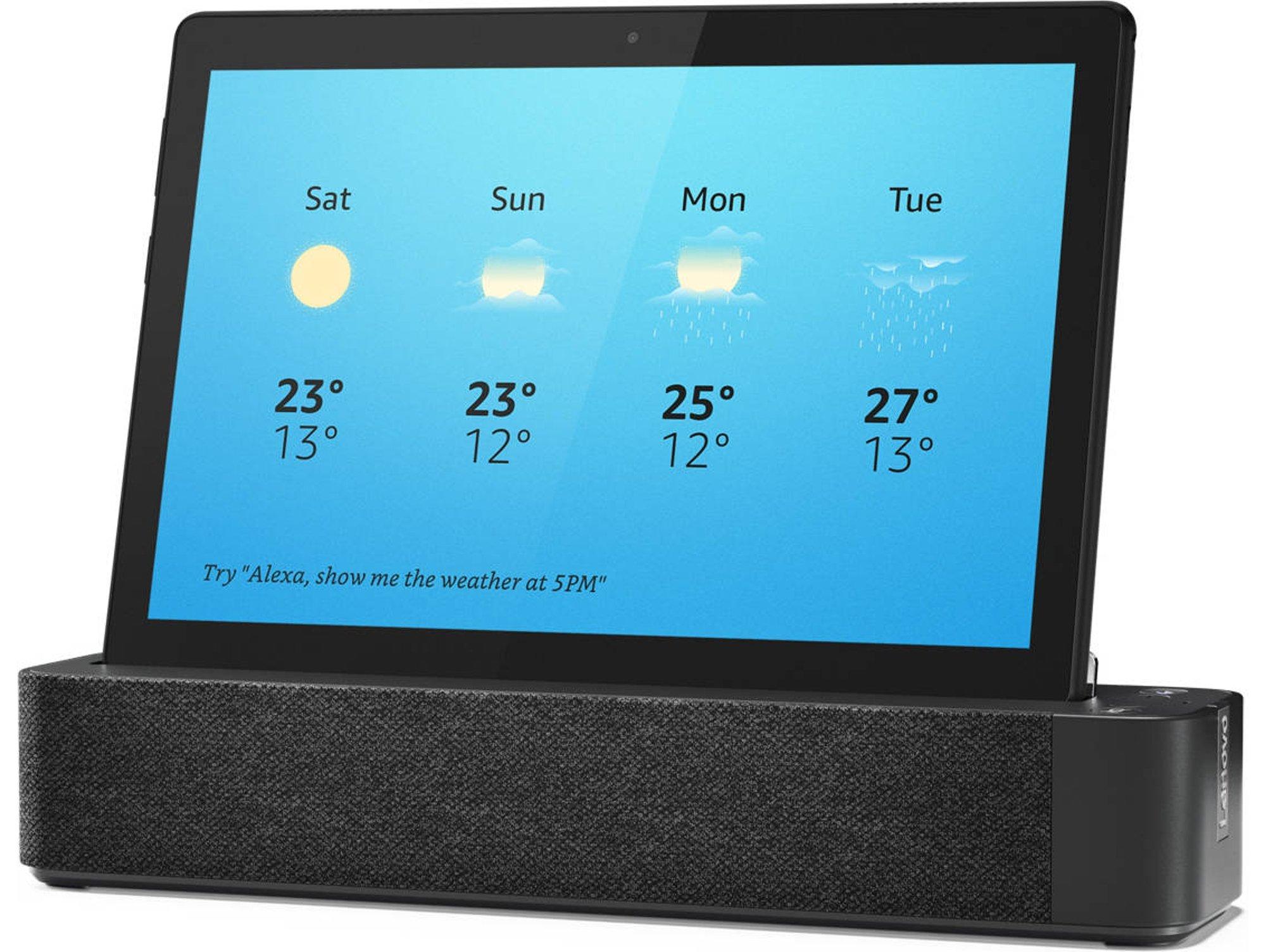 Tablet LENOVO Smart Tab M10 - Con Alexa (10.1'' - 32 GB - 2 GB - Smart Dock)