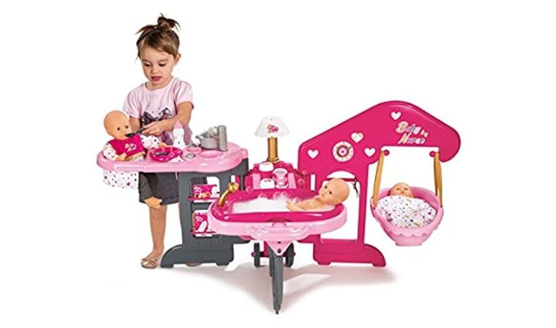 La casa de los bebés de Baby Nurse con 13 accesorios