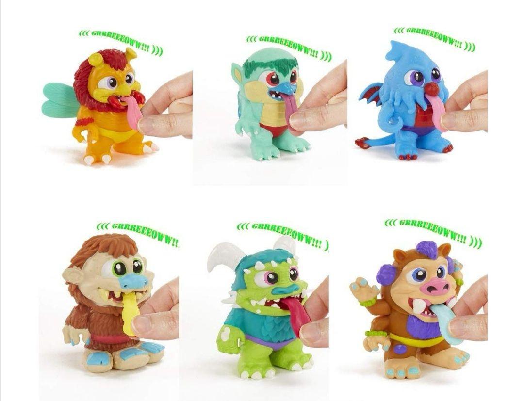Serie Creatures Figuras reaco
