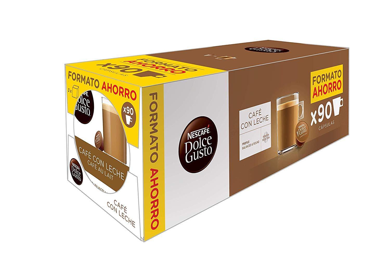 90x Dolce Gusto cápsulas café solo 18.5€