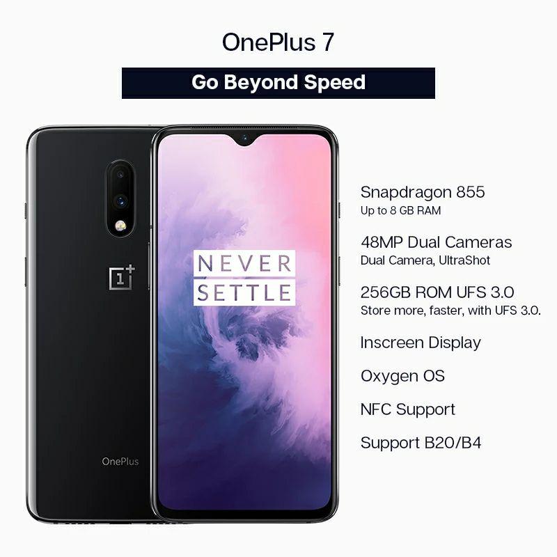 OnePlus 7 8/256GB Negro