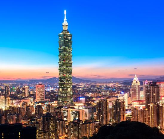 FEB/MAR Vuelos a Taiwán desde solo 336€ ida y vuelta