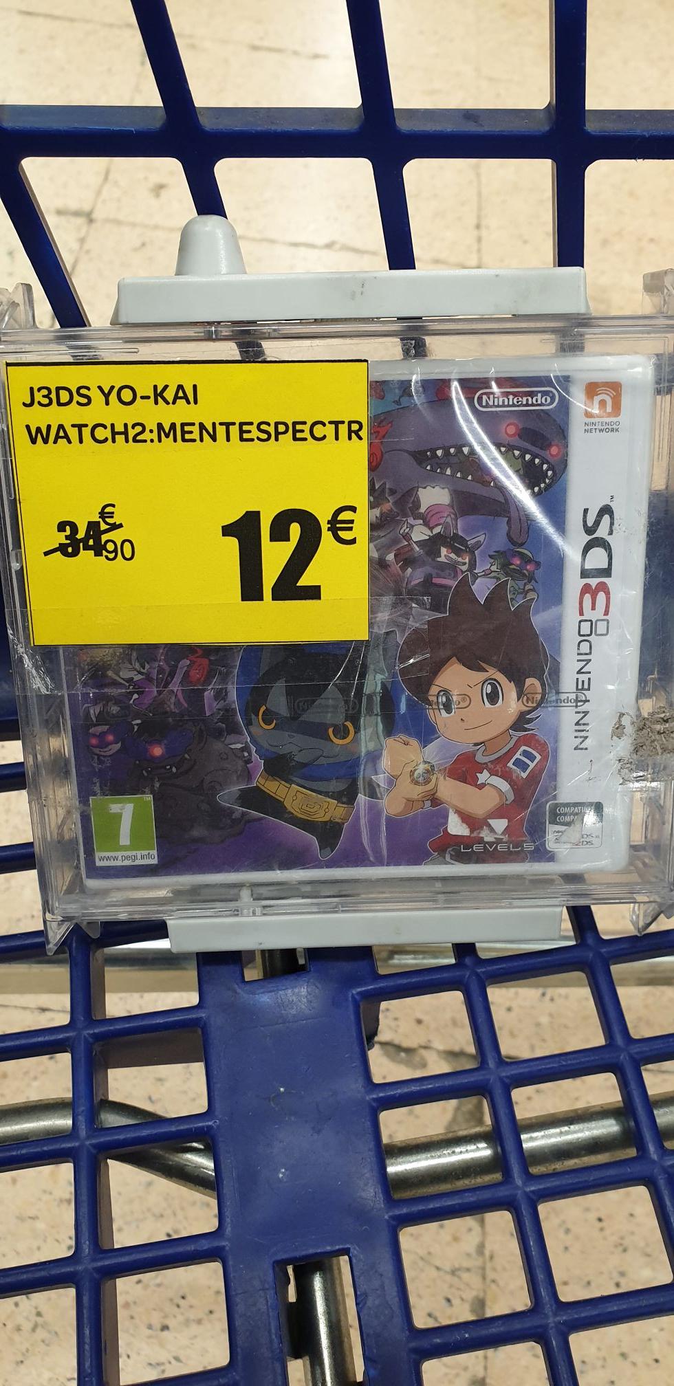 Yo-Kai Watch 2 Nintendo 3DS Carrefour