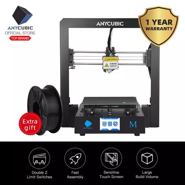 Impresora 3D - Anycubic i3 Mega desde España +1Kg PLA