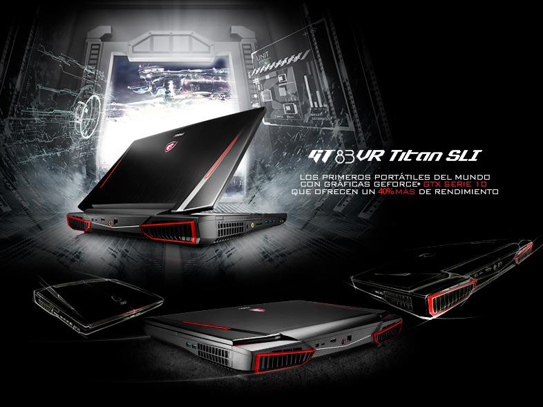 """MSI GT83VR 7RF(Titan SLI)-257ES Intel Core i7-7820HQ/32GB/1TB+256SSD/GTX1070 Dual/18.4"""""""
