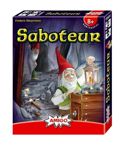 Juego de mesa Saboteur (sin expansión)