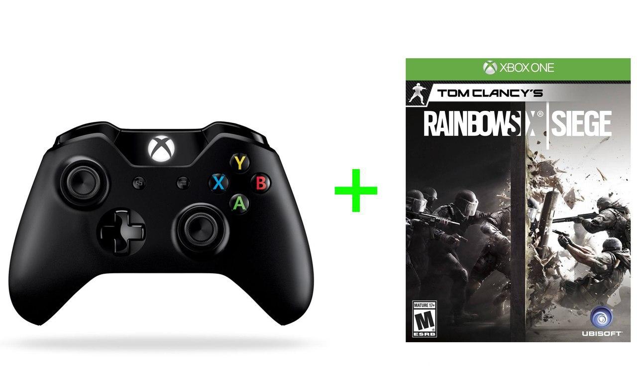 Mando Xbox One +Rainbow Six Siege solo 51.4€