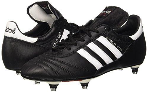 adidas World Cup Botas de fútbol, Hombre, Negro (Blackrunning White Footwear 0), 40 2/3 EU (7 UK)