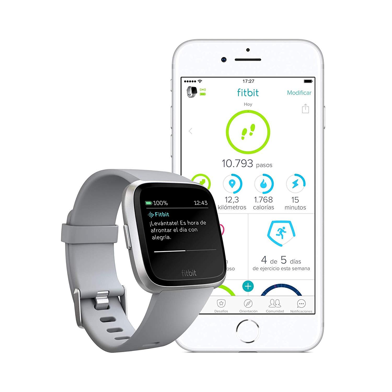 Fitbit Versa - Reloj Deportivo Smartwatch Deportivo