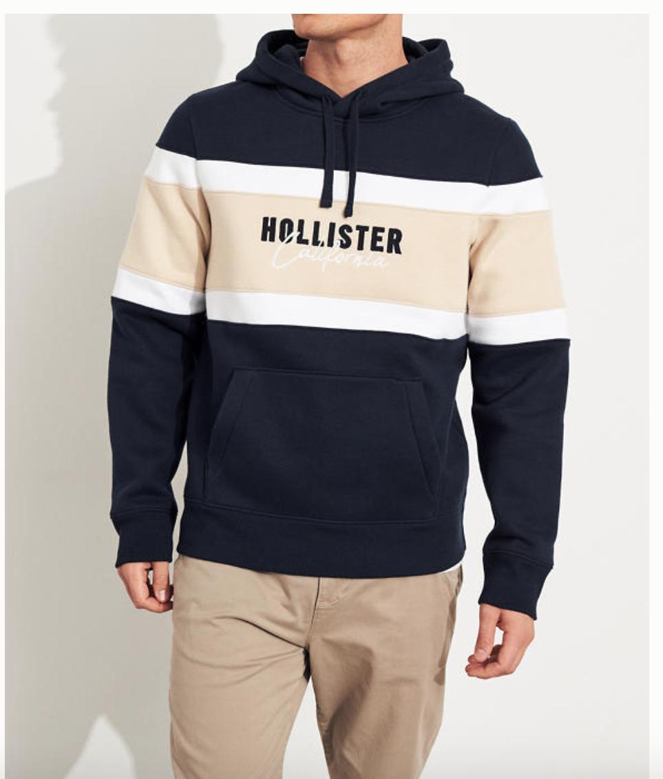 Sudadera con capucha Hollister