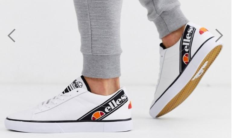 Zapatillas blancas massello de Ellesse 41,43 y 44