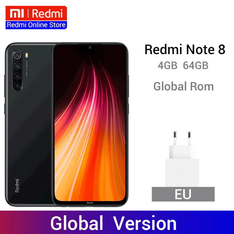 Xiaomi Redmi Note 8 - Global Versión - 4/64 GB - Envío desde China