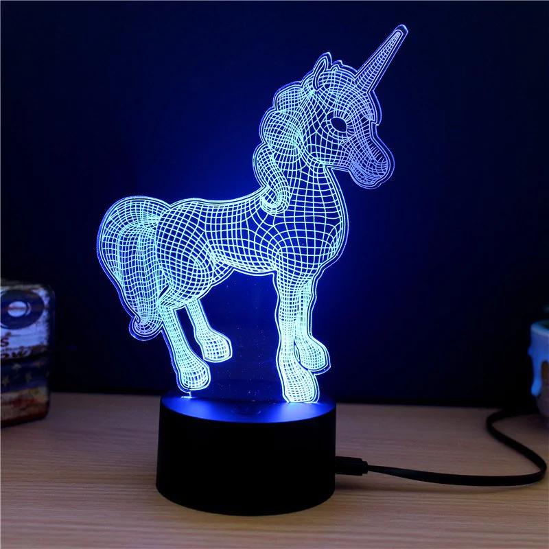 Lámpara efecto 3D por 4€ (Cupón en la descripción)