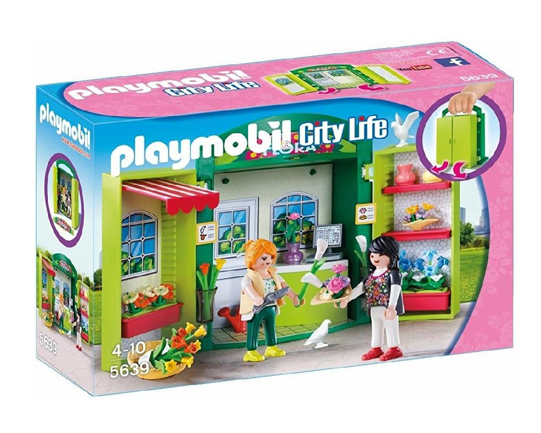 Playmobil - Cofre de tienda de flores. 10.35€ socios FNAC