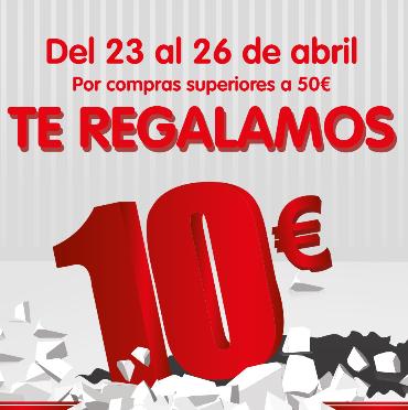 DIA: Cupón de 10€ por cada compra superior a 50€