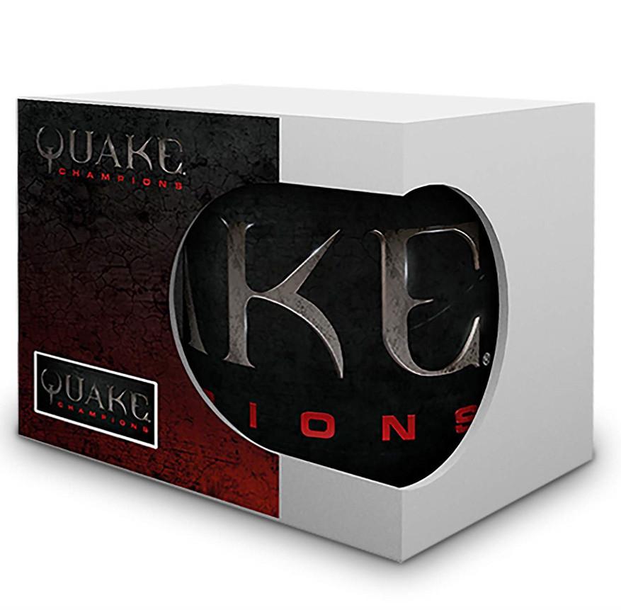 Taza Quake Champions - Licencia oficial por sólo 4,20€ (Plus)